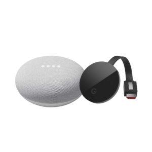 Chromecast Ultra + Google Mini