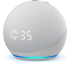 Echo Dot 4th Generation With Clock